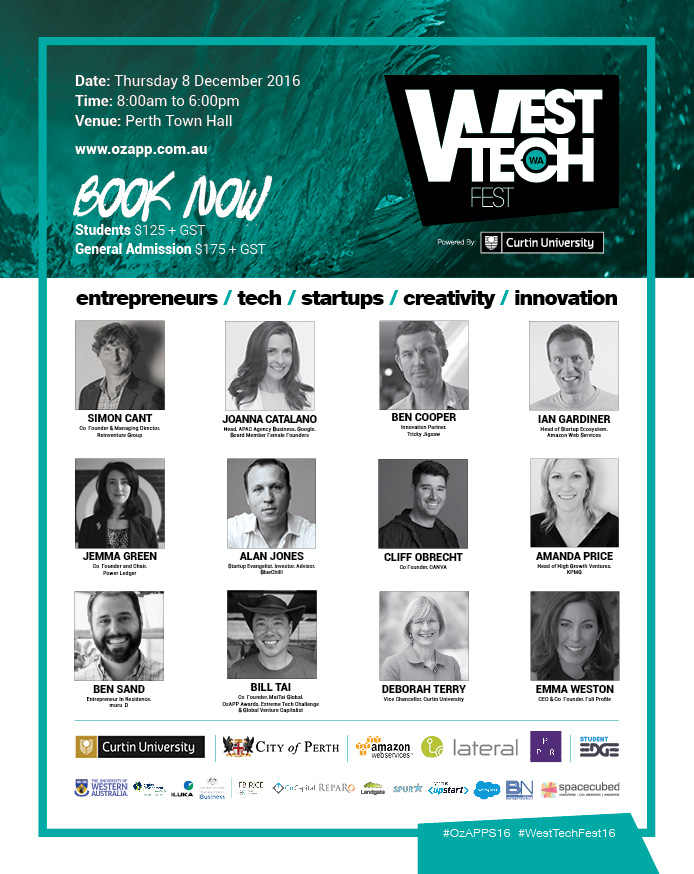 West Tech Fest speakers